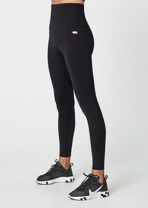 Running Bare Studio Full Length Tight - Black