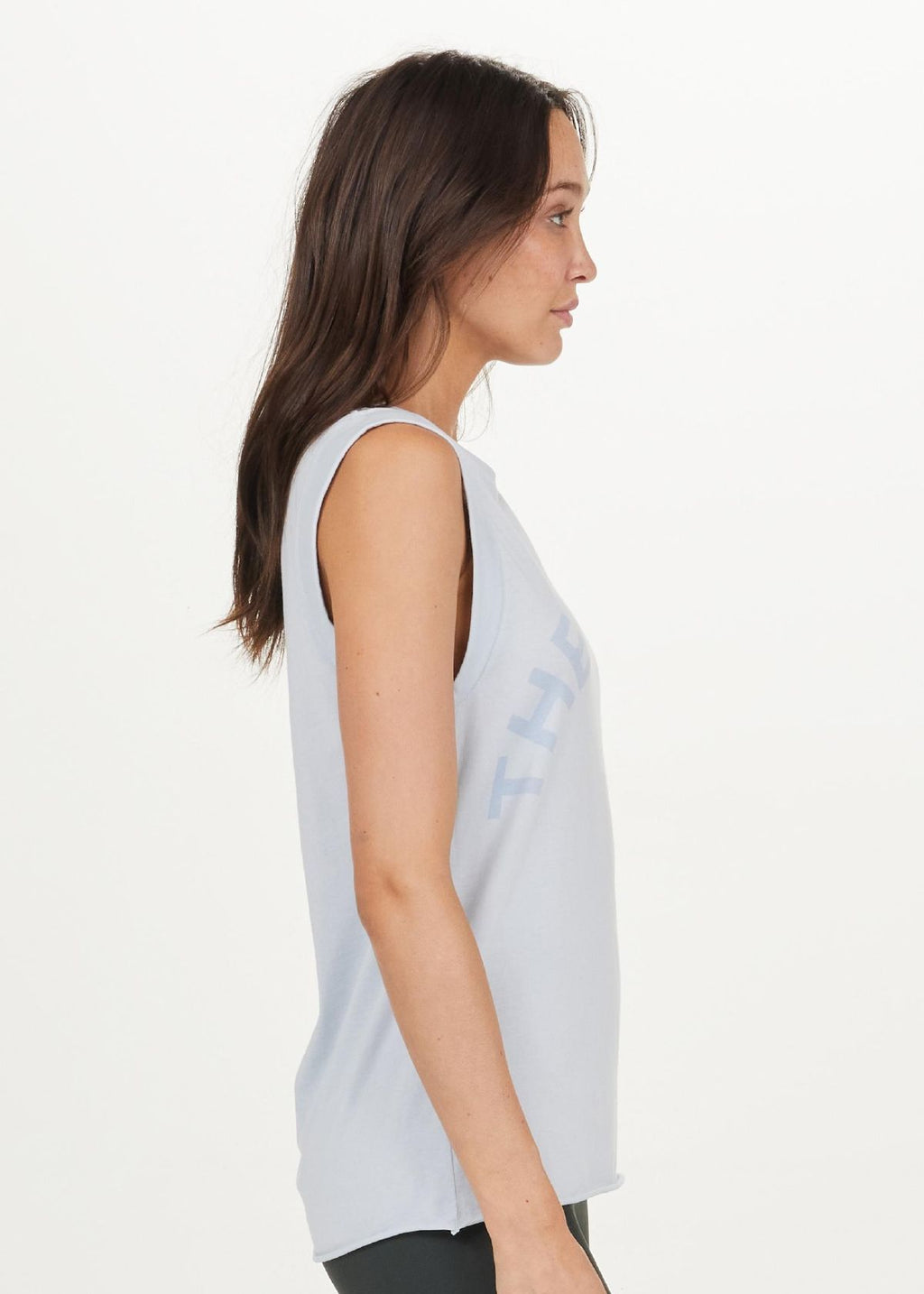 The Upside Muscle Tank - Pale Blue