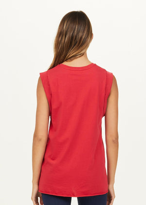 The Upside Muscle Tank - Red
