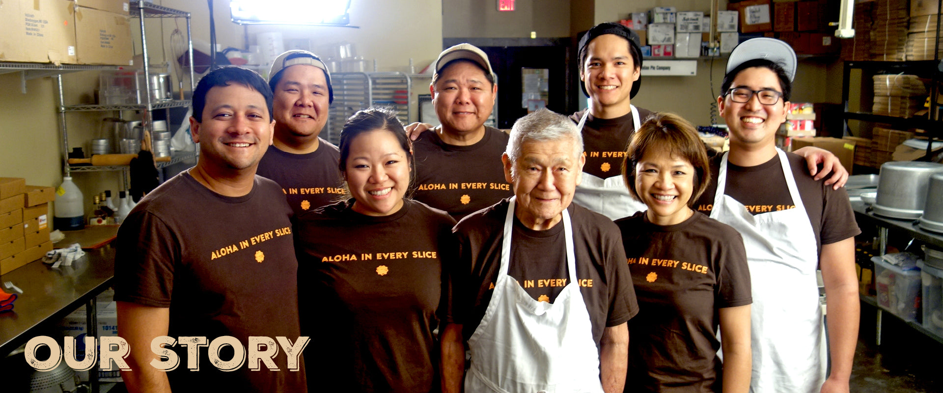 Four Generations of Pie Makers from Hawaii