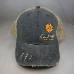 Distressed Two Tone Grey Trucker Hat