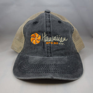 Grey Two Tone Trucker Hat