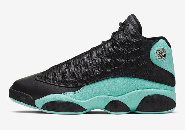 Jordan 13 Retro Black Island Green  414571-030