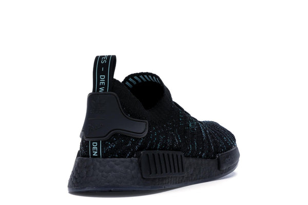 adidas NMD R1 STLT Parley Core Black   AQ0943 - LTD Sneakers & Wear