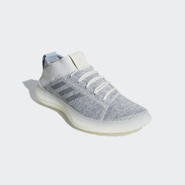 adidas PureBOOST Trainer Mens Raw White  BB7212 - LTD Sneakers & Wear