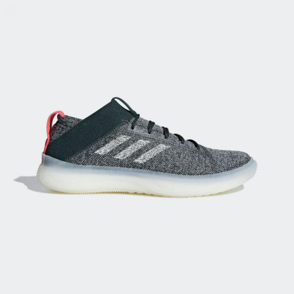 adidas PureBOOST Trainer LEGEND IVY / ASH SILVER / SHOCK RED  BB7216 - LTD Sneakers & Wear