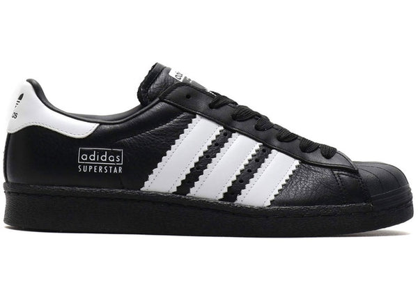 "adidas Originals Superstar 80's ""Enlarged Stripes"" Core Black  BD7363 - LTD Sneakers & Wear"