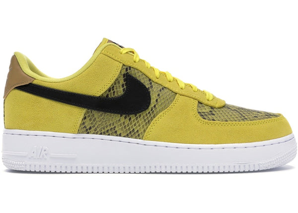 Air Force 1 Low Yellow Snakeskin  BQ4424 700