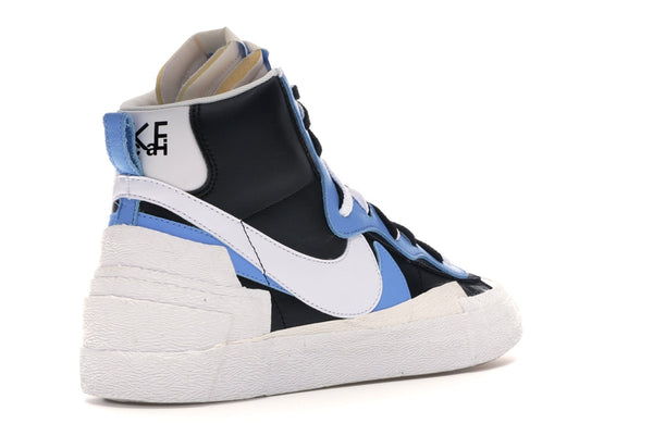 Nike Blazer Mid sacai白色黑色Legend Blue BV0072-001
