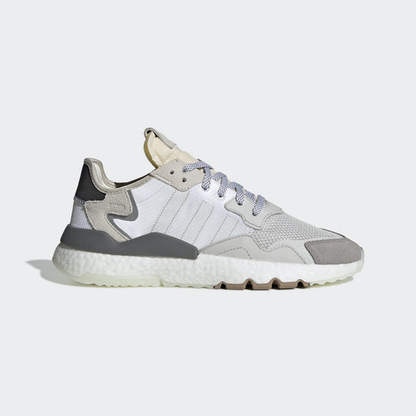 adidas NITE JOGGER  WHITE/GREY   CG5950 - LTD Sneakers & Wear