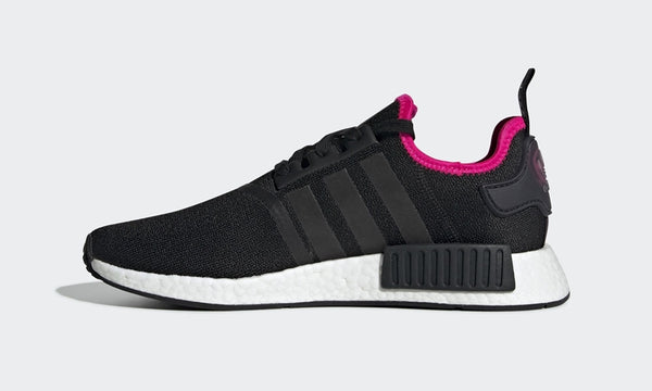 adidas NMD R1 Core Black/Shock Pink    DB3586