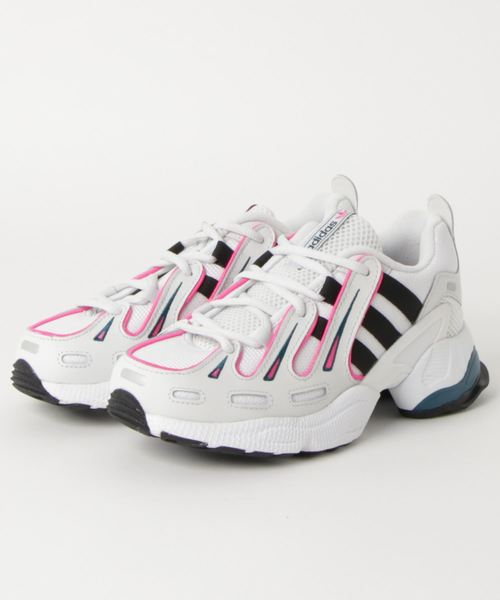 adidas EQT GAZELLE (Women's)   Crystal-White/Core-Black/Shock-Pink  EE6486 - LTD Sneakers & Wear