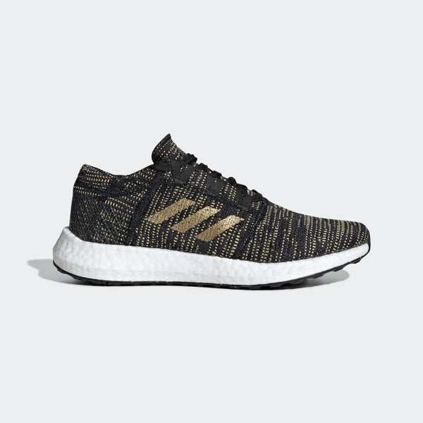 adidas Pure Boost Go core black/gold  F36346 - LTD Sneakers & Wear