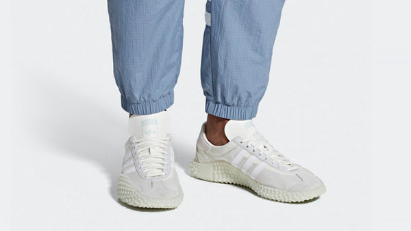 adidas Country x Kamanda Never Made Pack Triple White  G27825 - LTD Sneakers & Wear