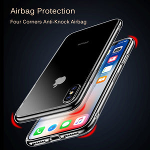 ANTI-DROP MIRROR ORIGINAL APPLE LOGO IPHONE CASE