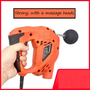 6 SPEED FITNESS DEEP MUSCLE MASSAGER GUN