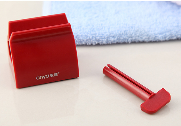 Toothpaste squeezer plastic toiletries