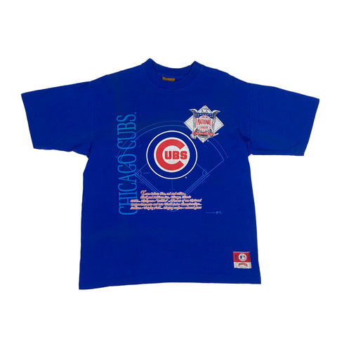 Single Stitch Chicago Cubs MLB Tee