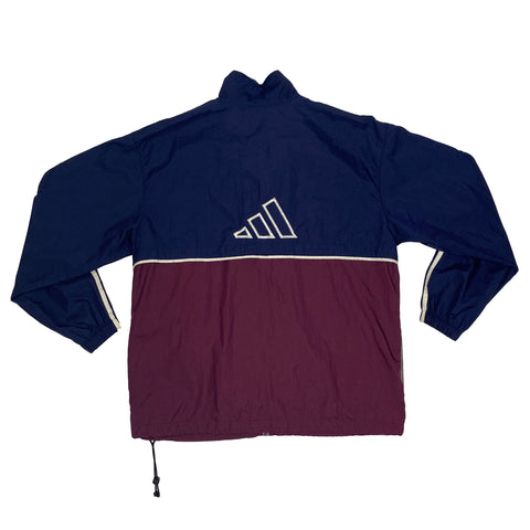 Vintage Adidas Full-Zip Windbreaker