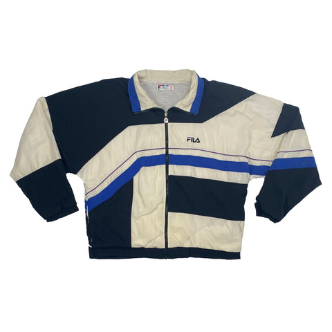 Vintage 1990's Fila Full-Zip Windbreaker