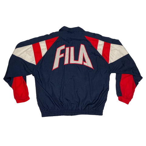 Vintage Fila Full-Zip Windbreaker