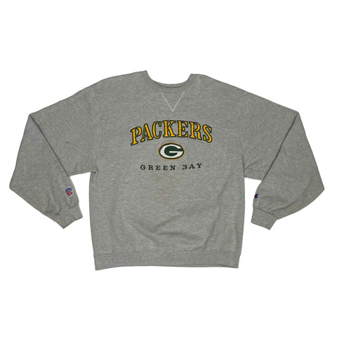 Champion Green Bay Packers Embroidered Crew