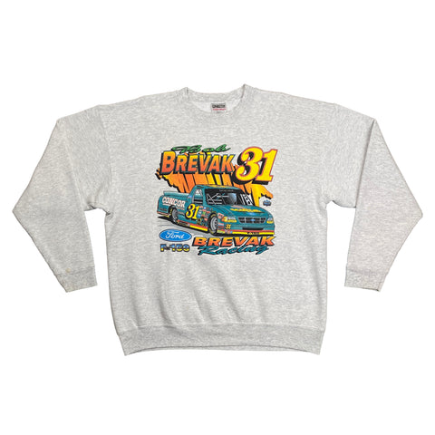 Vintage Bob Brevak #31 Ford F-150 Racing Crewneck