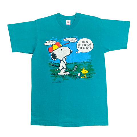Vintage Snoopy & Peanut Golf Graphic Tee