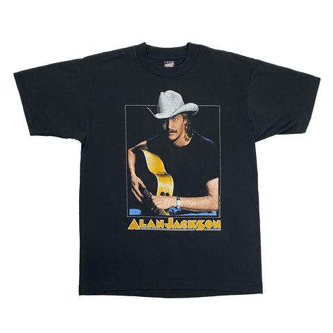 "Vintage 1990's Alan Jackson ""Don't Rock The Jukebox"" Band Tee"