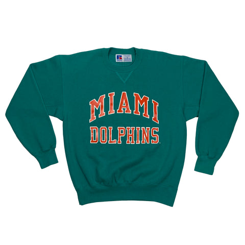 Russel Athletic Miami Dolphins NFL Crewneck
