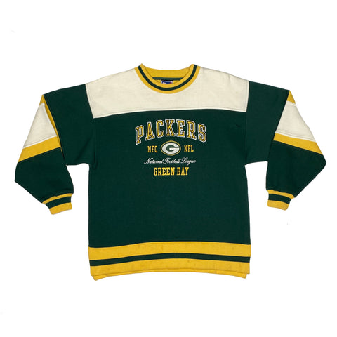 Vintage Green Bay Packers NFL Embroidered Crewneck
