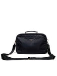 PRADA Nylon and Leather Messenger Bag