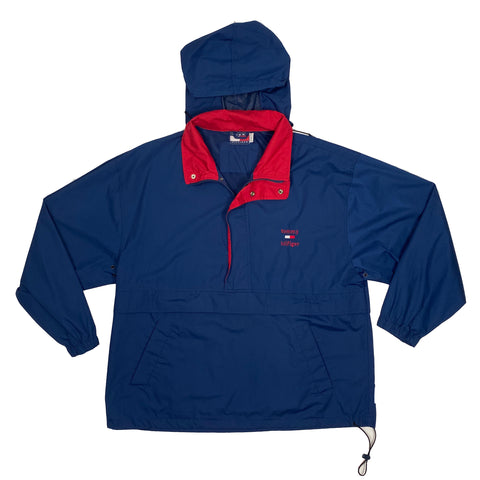 Tommy Hilfiger Half-Zip Hooded Windbreaker