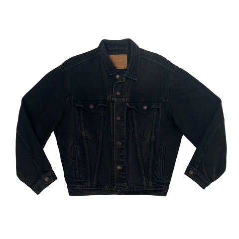 Vintage Levi's Black Denim Jacket