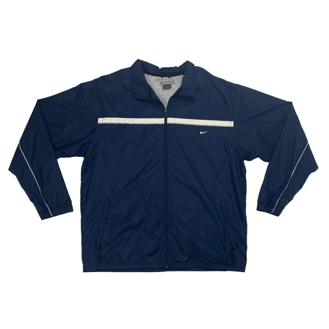 Vintage Nike Navy Full-Zip Windbreaker