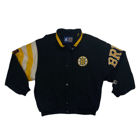 Vintage Boston Bruins NHL Starter Embroidered Jacket