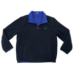 Vintage Nautica Reversible Full-Zip Fleece Jacket