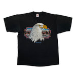 Single Stitch Eagle Print Tee