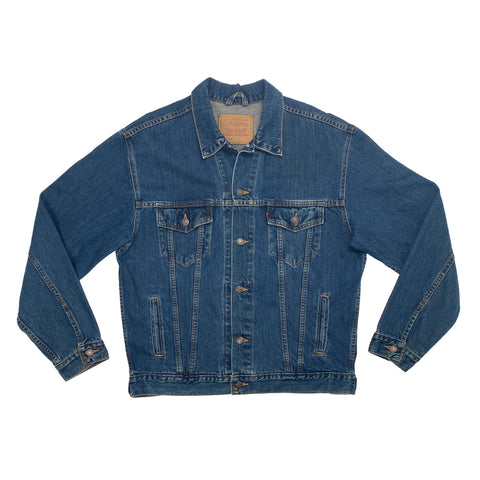 Vintage Levi's Dark Wash Denim Jacket
