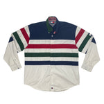 Vintage Tommy Hilfiger Large Flag Embroidered Long Sleeve