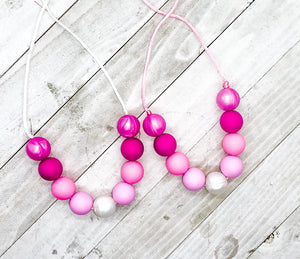 Bubblegum Necklaces: Ombré
