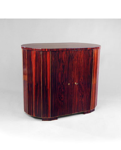 OSVALDO BORSANI ROSEWOOD AND SATINWOOD CABINET