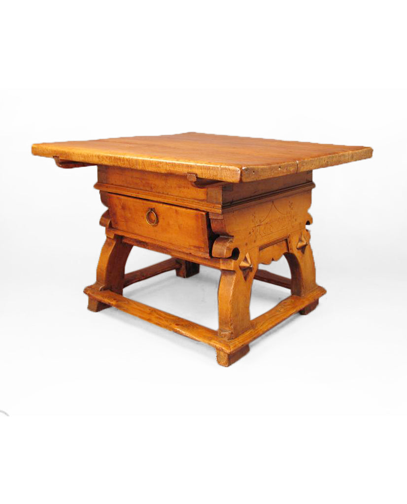 BAVARIAN WALNUT  BAILIFF TABLE