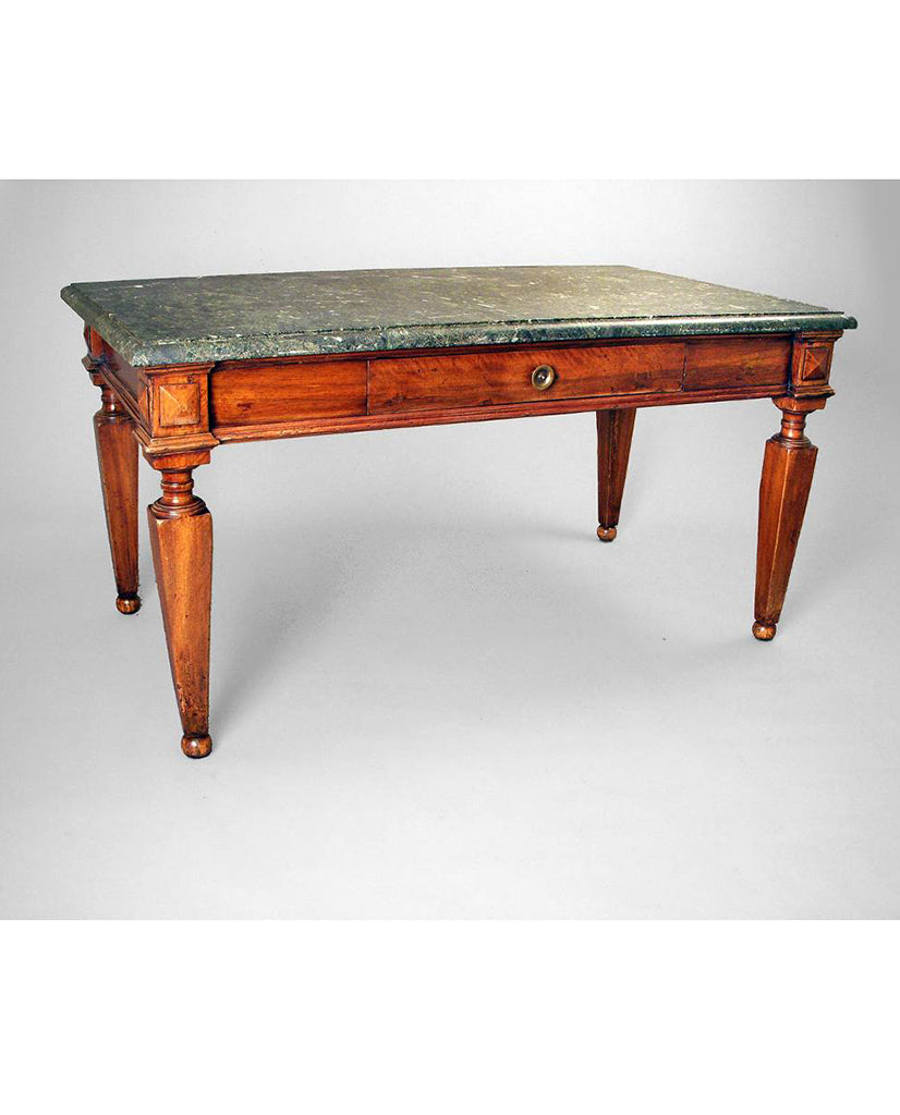 ITALIAN NEOCLASSIC WALNUT CENTER TABLE