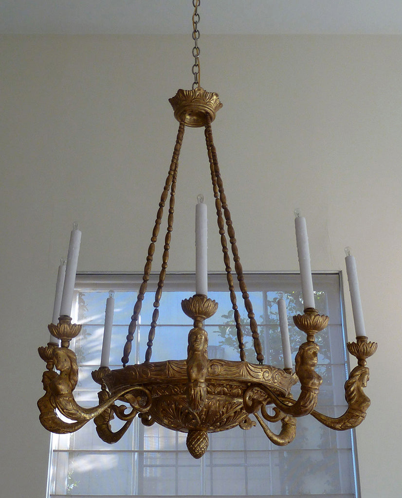 NORTHERN EUROPEAN EMPIRE GILTWOOD AMPULE