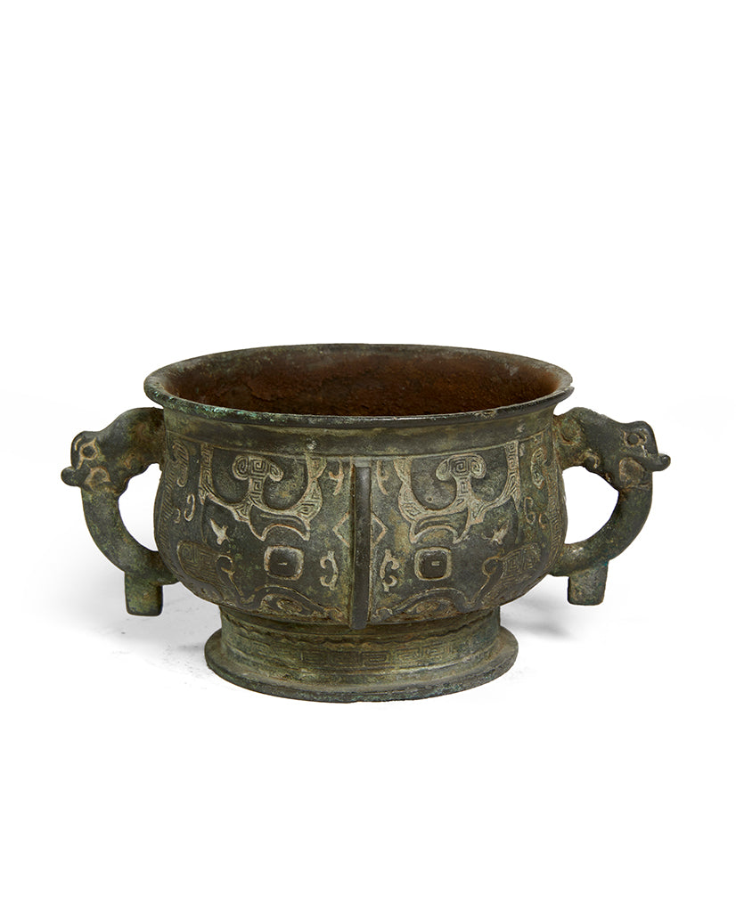CHINESE ARCHAIC BRONZE GUI