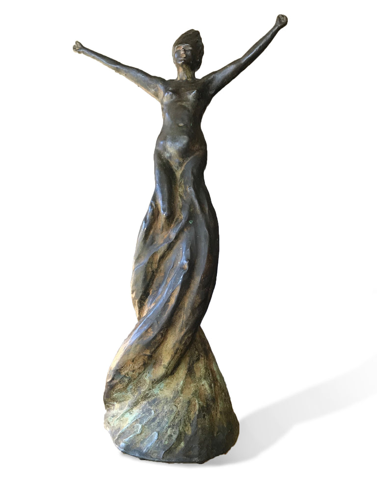 ROBINSON BRONZE SCULPTURE