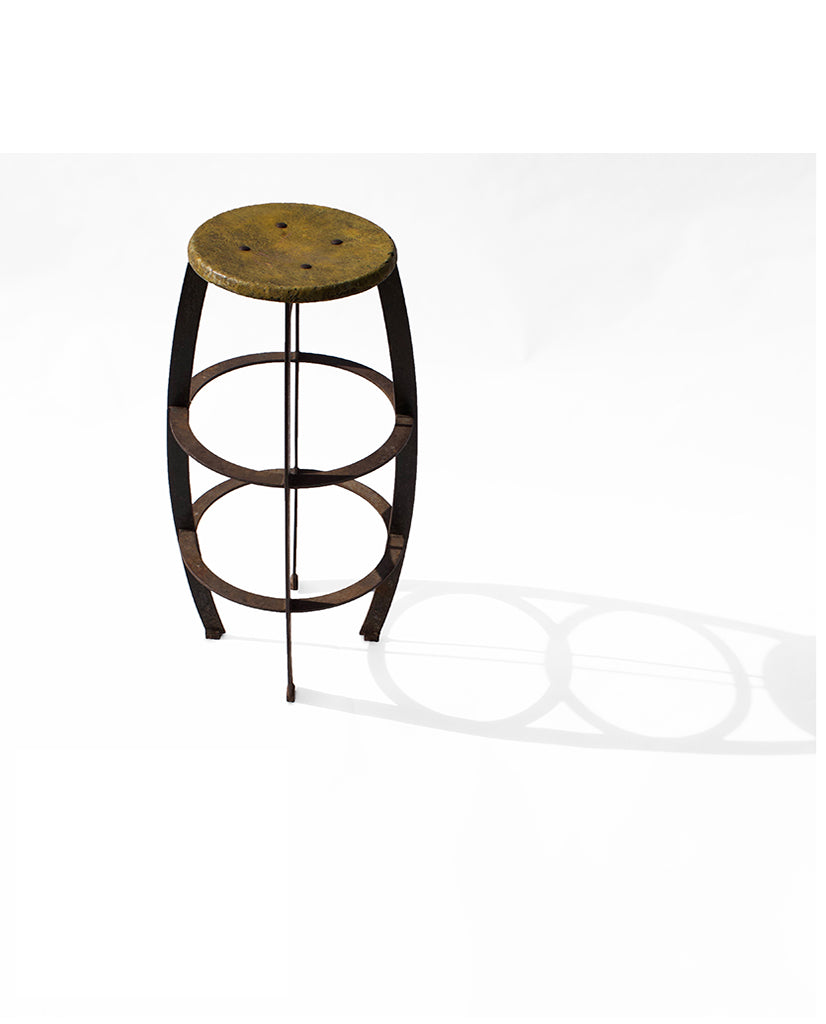 STEEL AND COMPOSITE STOOL