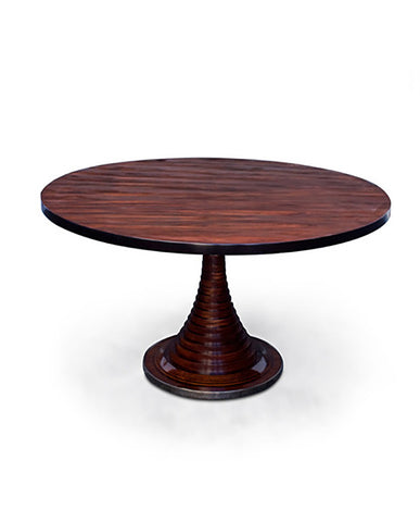 CARLO DE CARLI ROSEWOOD VENEER , PLYWOOD AND STEEL CENTER TABLE