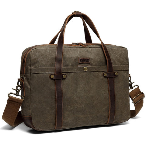 Classic Laptop Denim Bag